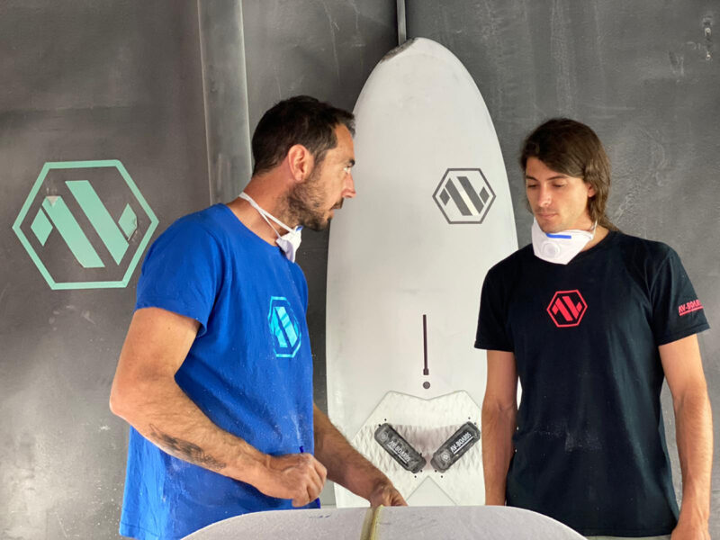 Jacopo Testa @ AV-Boards headquarters